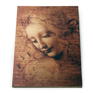Head of a Young Woman Wooden Postcard<br>(Pack of 10)