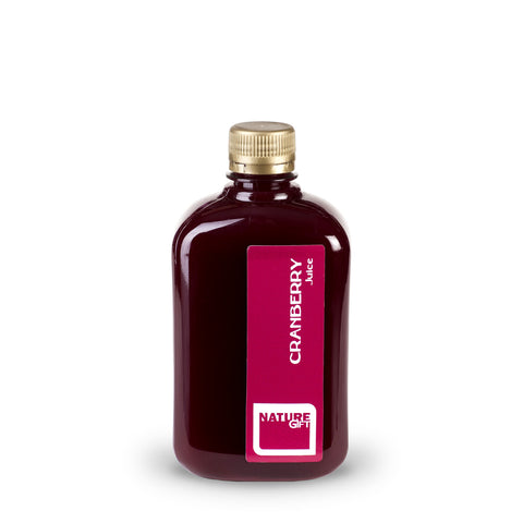 Cranberry juice (plastic bottle) 0.5l