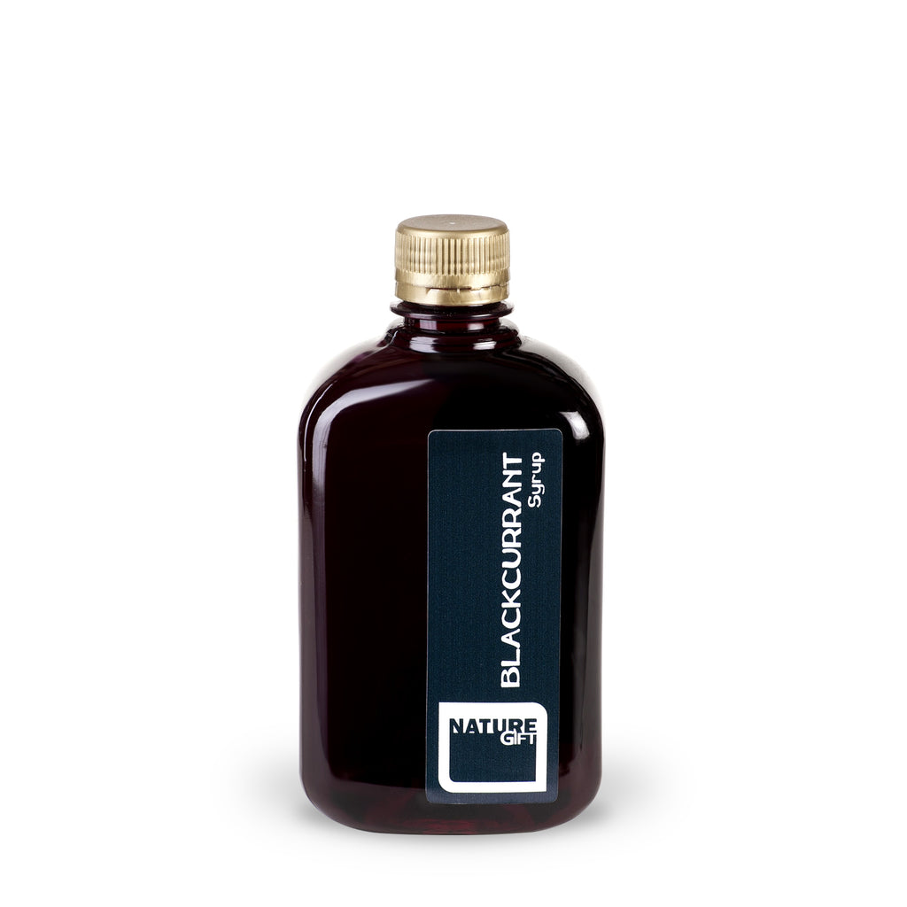 Black currant syrup (plastic bottle) 0.5l