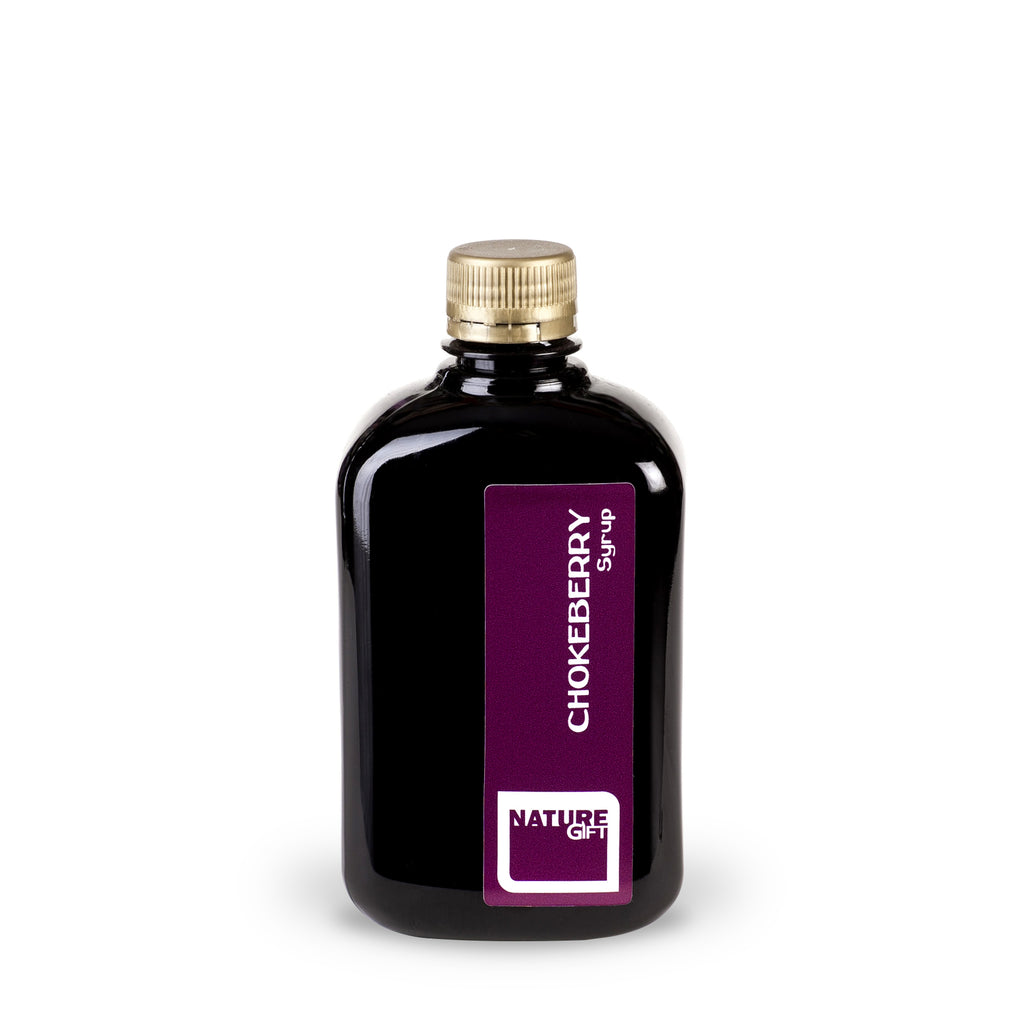 Chokeberry syrup (plastic bottle) 0.5l