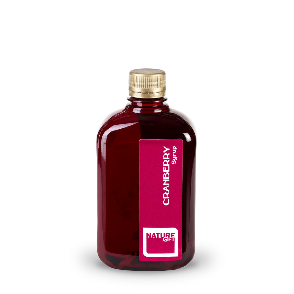 Cranberry syrup (plastic bottle) 0.5l