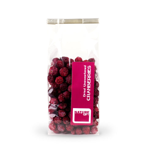 Unsweetened Dried Cranberries 60g