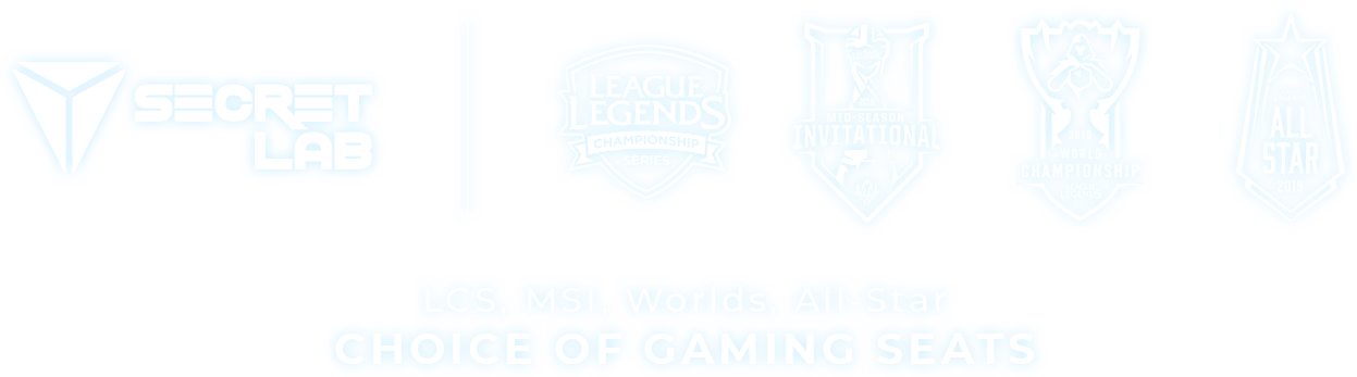 Secretlab x League of Legends Esports