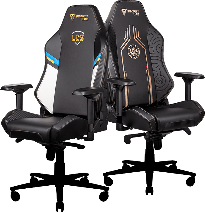 Secretlab x Lolesports - LCS and MSI Special Edition Gaming Chairs