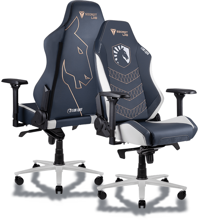 Secretlab x Team Liquid - OMEGA and TITAN Special Edition Gaming Chairs