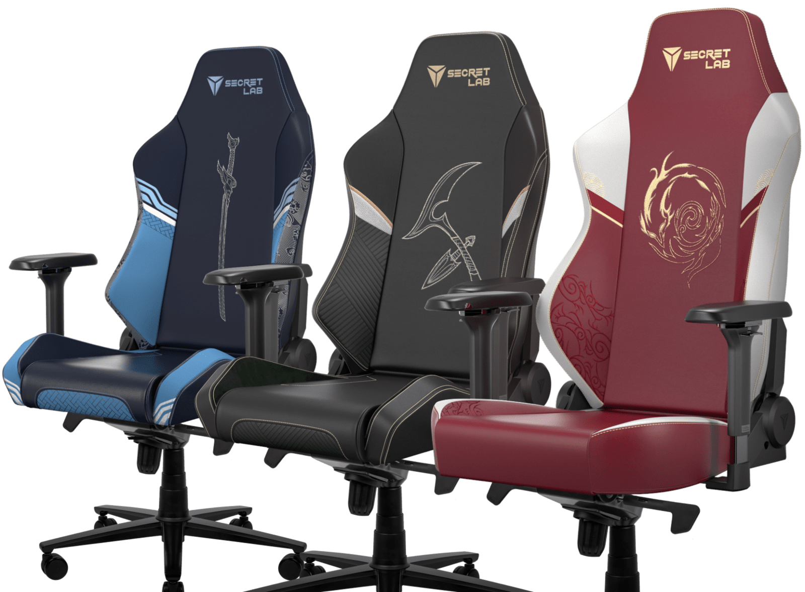 Secretlab x League of Legends Ionia Collection - OMEGA and TITAN Special Edition Gaming Chairs