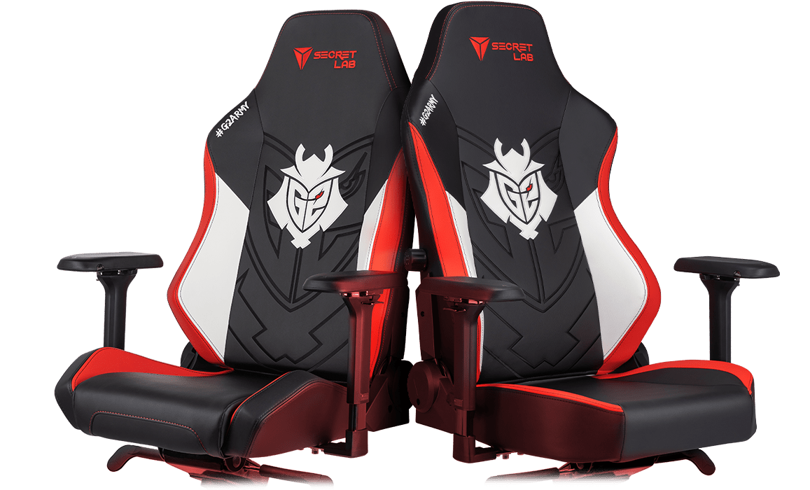 Secretlab x G2 - OMEGA and TITAN Special Edition Gaming Chairs