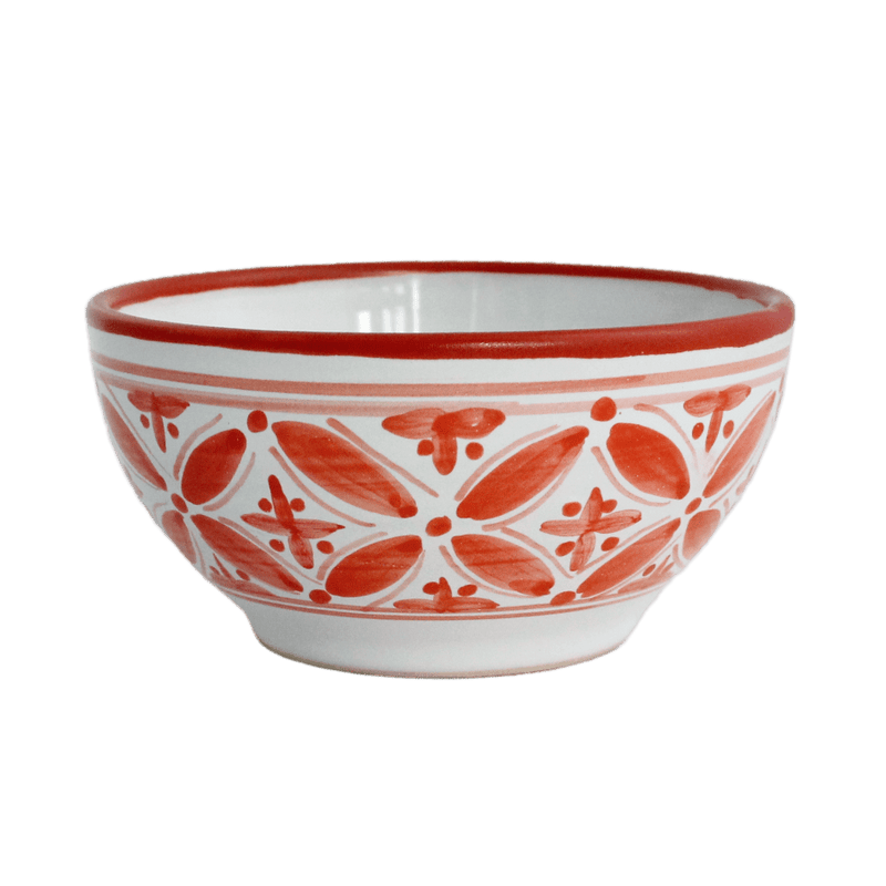Red Fez Cereal Bowl
