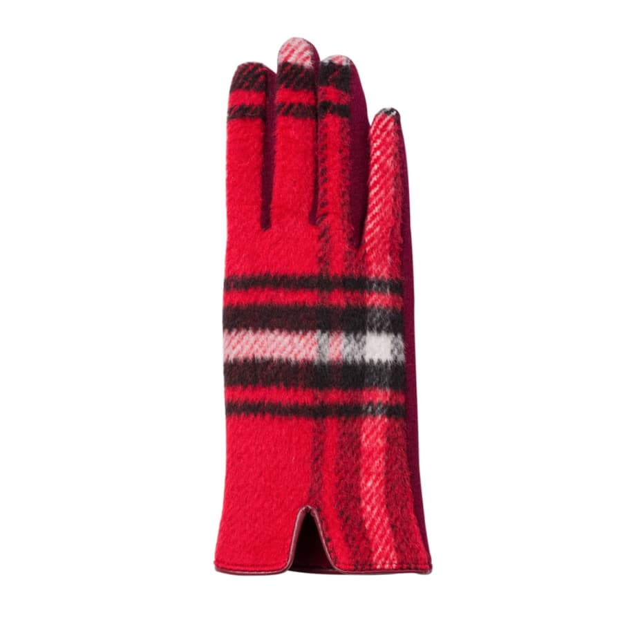 Harper Glove - Red Plaid