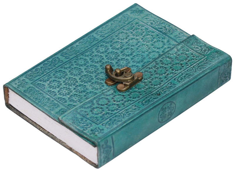 Teal Leather Journal