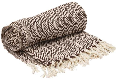Pure Cotton Throw Blanket