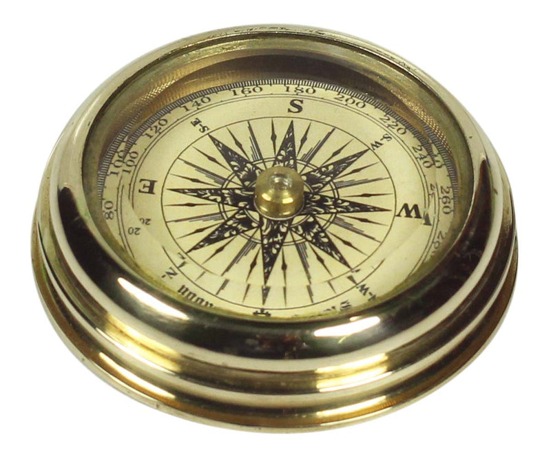 Nautical Brass Compass