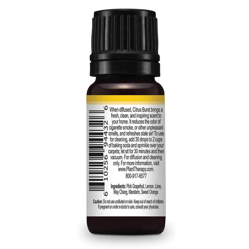 Citrus Burst Synergy Essential Oil - 10 ml