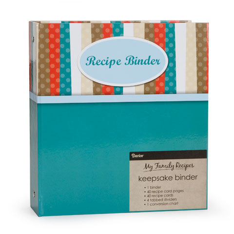 My Family Recipes Keepsake Binder - Modern Kitchen