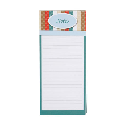 My Family Recipes Magnetic Memo Pad - Modern Kitchen