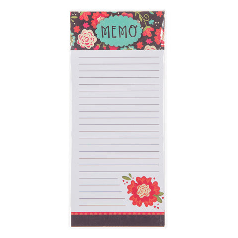 My Family Recipes Memo Pad - Happy Day