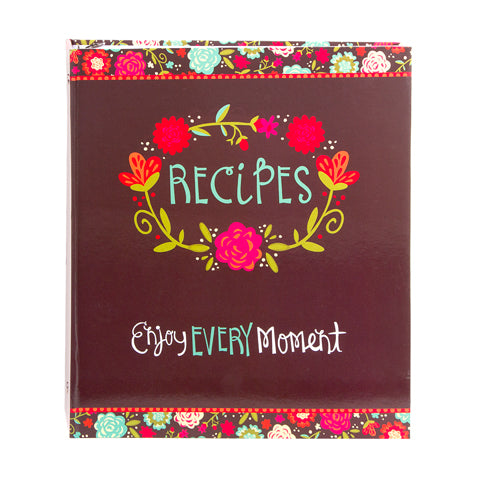 My Family Recipes Recipe Binder - Happy Day