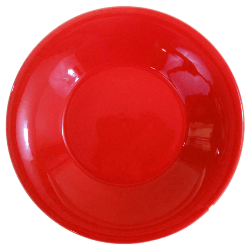 Stoneware Pasta/Salad Bowl - Red