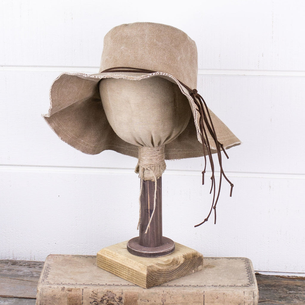 Halie - Canvas Boho Hat