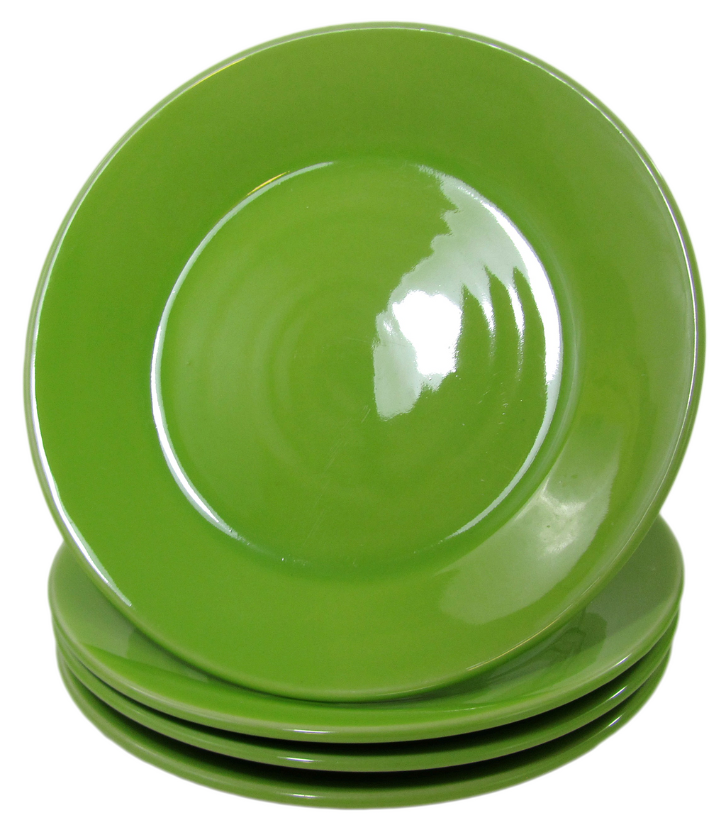 Stoneware Side Plate - Green