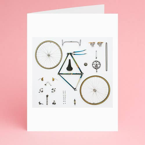 Cyclist Notecard - Box Set of 8