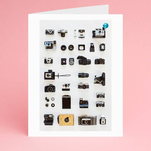 Camera Collector Notecard - Box Set of 8