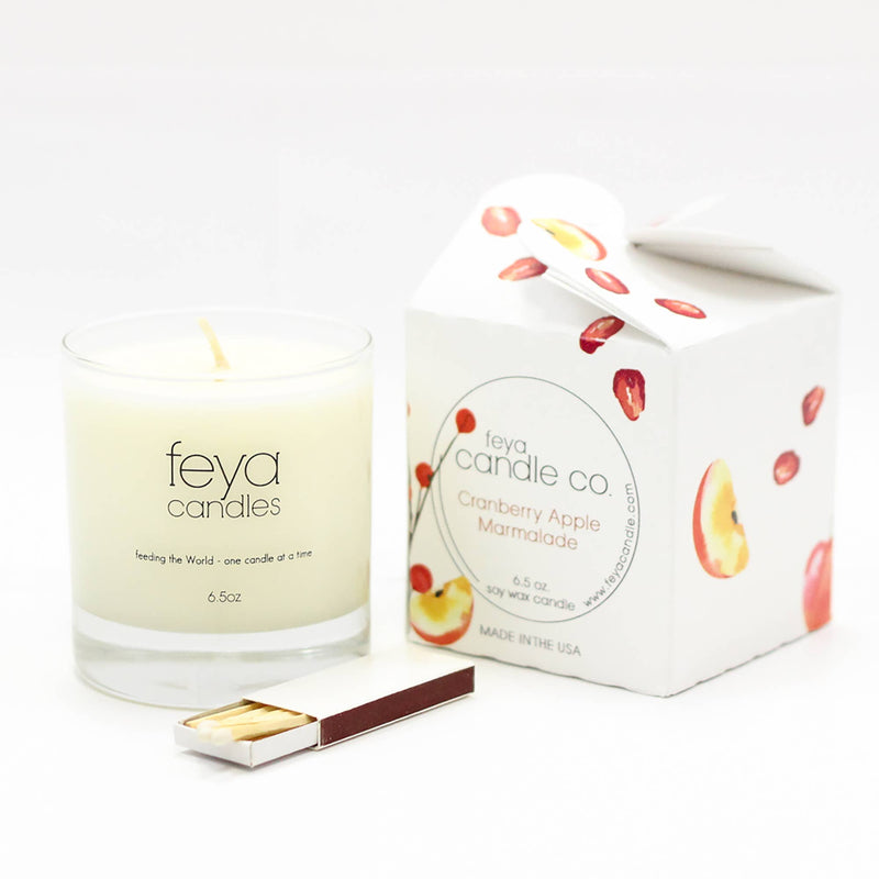 Cranberry Apple Marmalade Candle & Matchbox