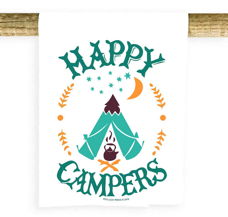 Happy Campers Tent Towel