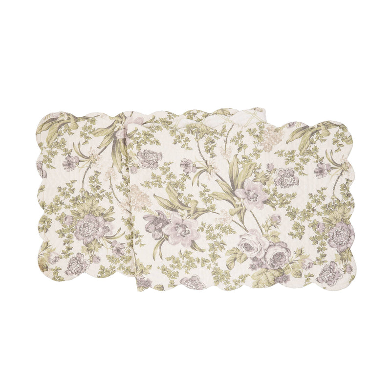 Grace Quilted Reversible Table Runner
