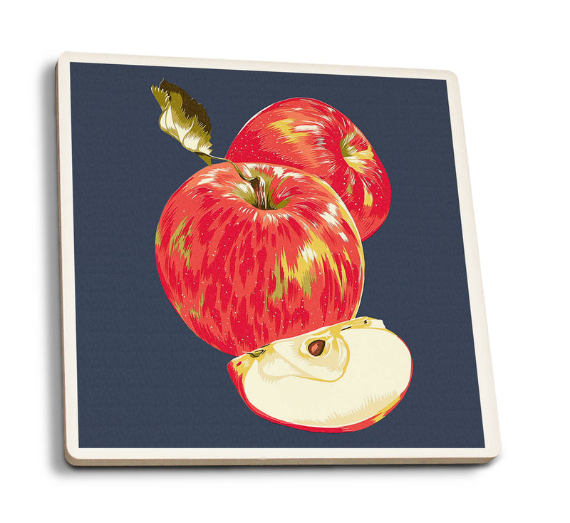 Apple Ceramic Coaster