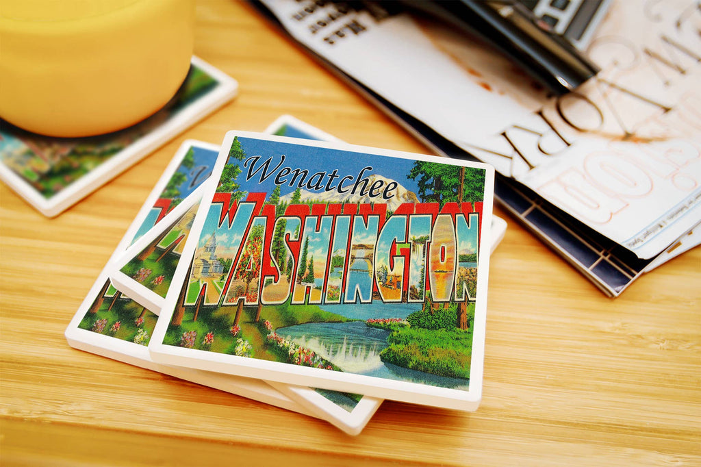 Wenatchee - Washington Ceramic Coasters