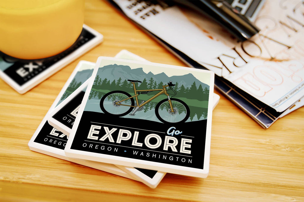 Oregon and Washington - Go Explore Bike Coaster