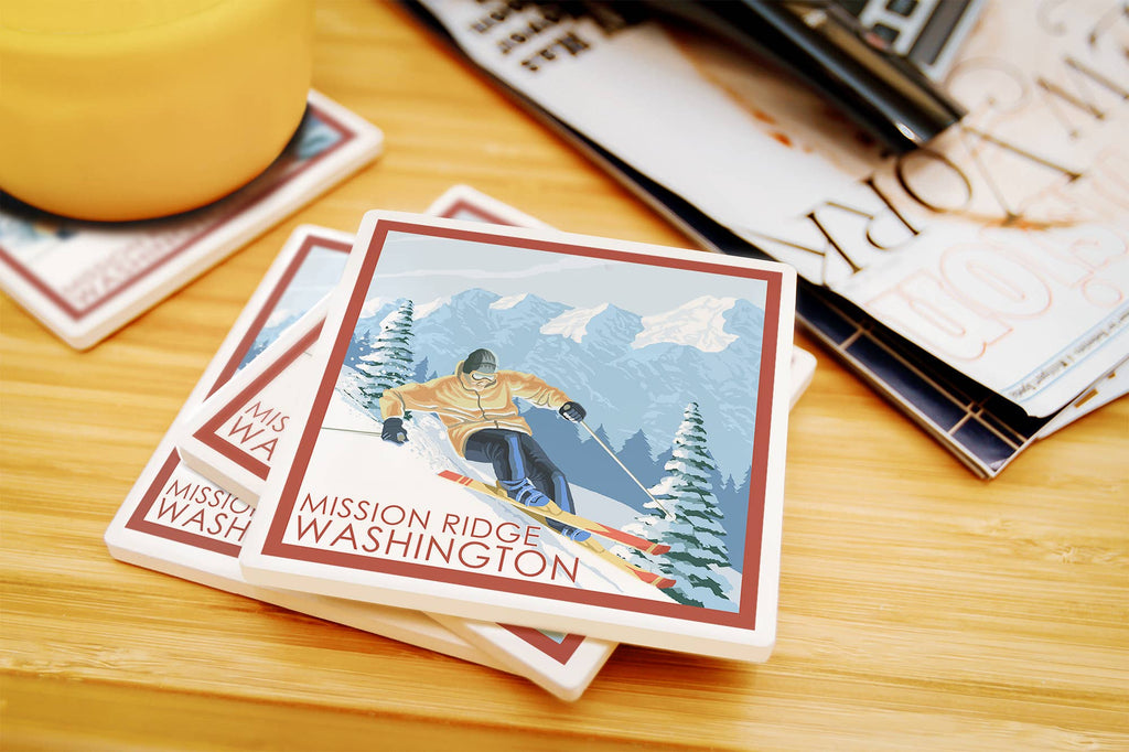 Mission Ridge - Washington Downhill Snow Skier Coasters