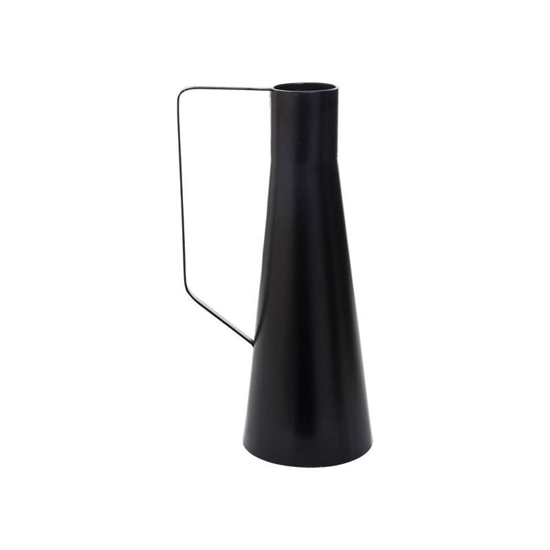 Zion Tall Black Vase