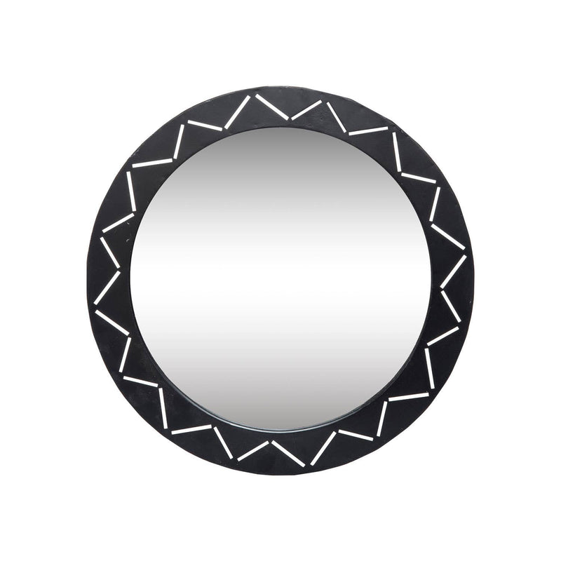 Laser Cut Mirror - Black