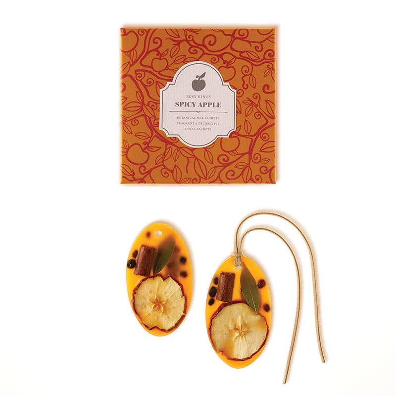 Spicy Apple Botanical Wax Sachets