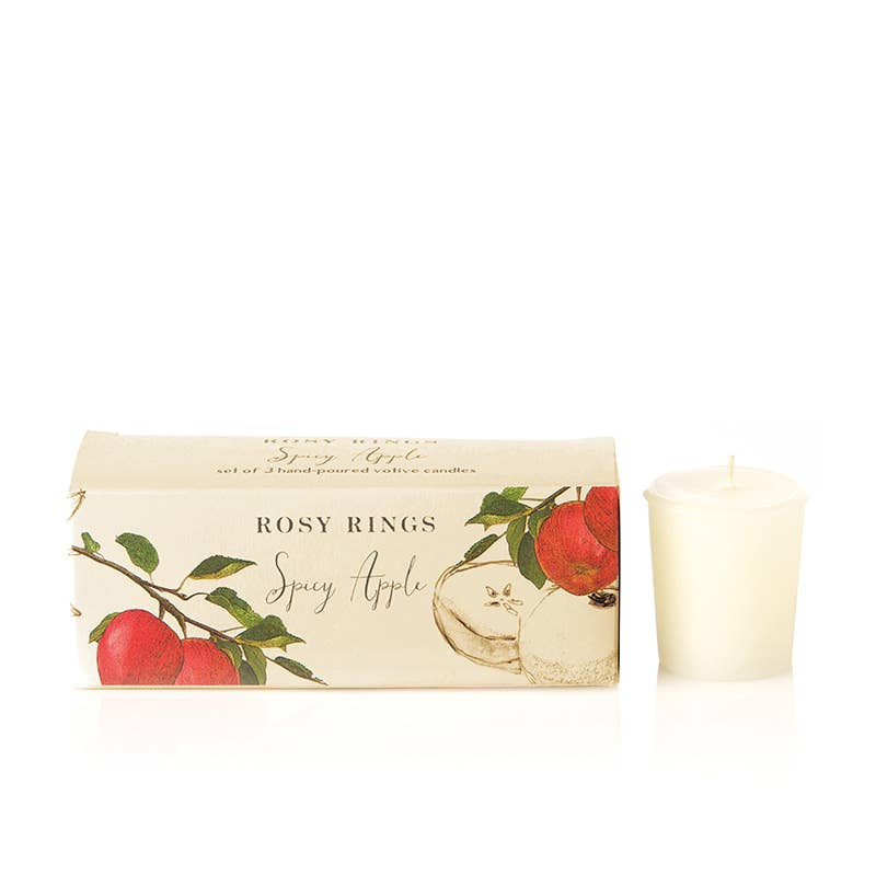 Spicy Apple Votive Gift Set
