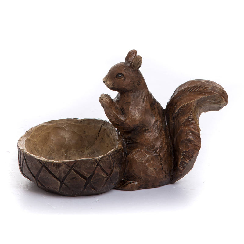 Resin Squirrel Container