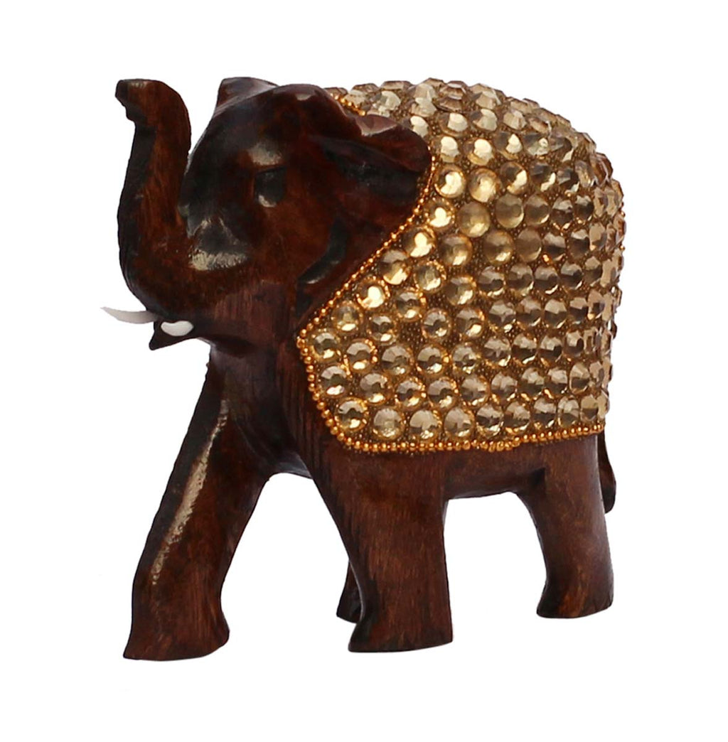 Elephant with Gold Details