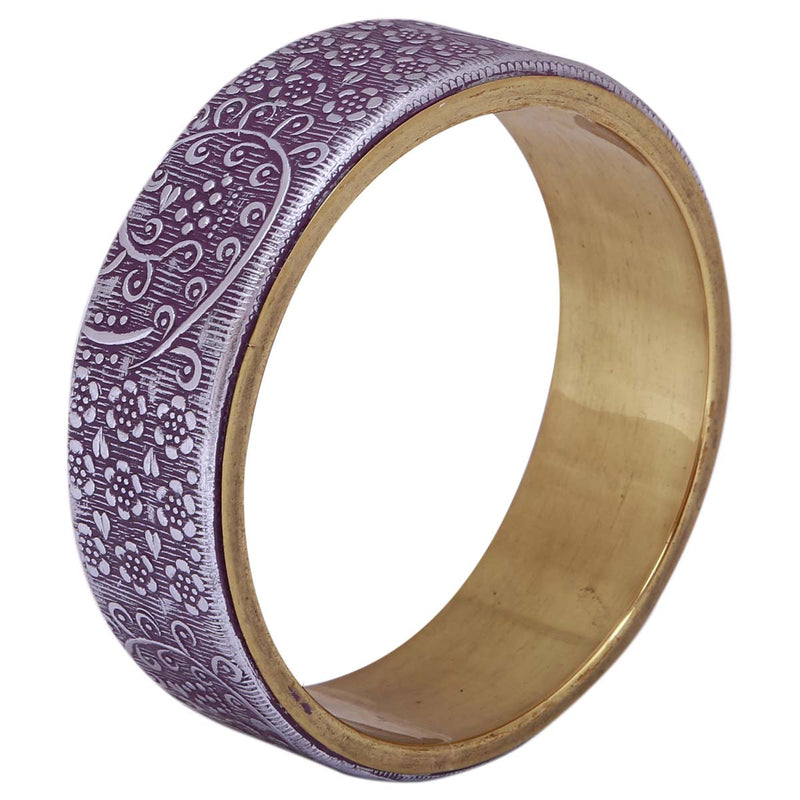 Purple Bangle Bracelet