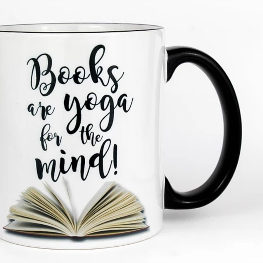 Books Are Yoga for the Mind Mug (11 oz.)