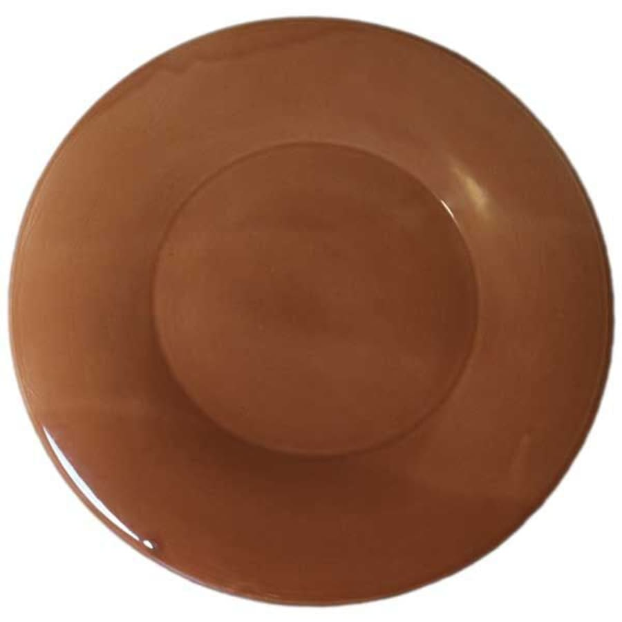 Stoneware Dinner Plate - Brown