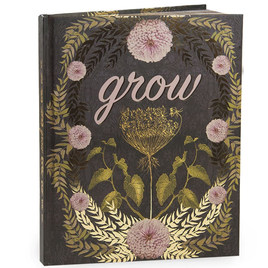 Grow - Hardcover Notebook