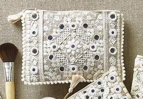 Amazing Threads Embroidered Bag