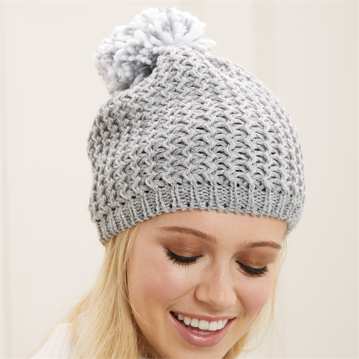 Warm Reception Beanie Hat with Fleece Lining