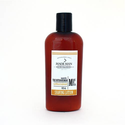 'The Outdoorsman' Caribbean Teakwood | Shaving Lotion
