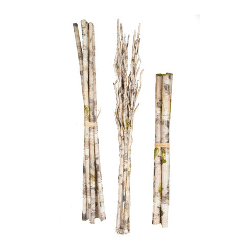 Decorative Faux Birch Branch Bundle - 23.6 inches