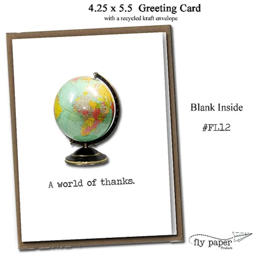 A Word Of Thanks! Greeting Card