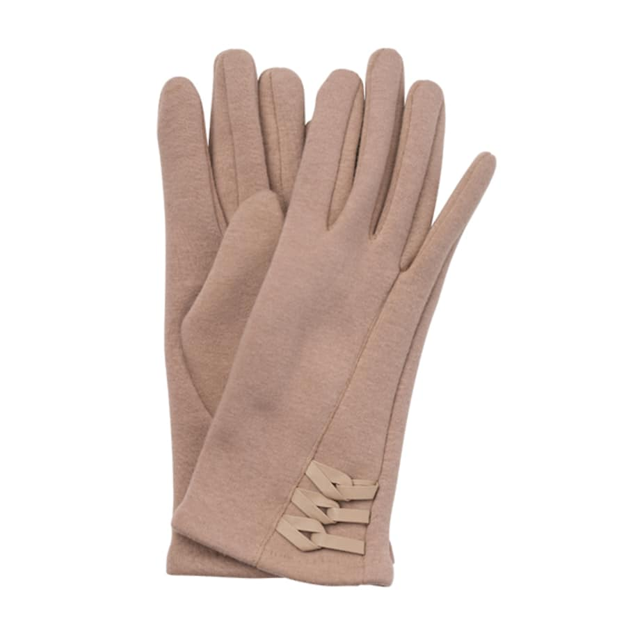 Antonella Gloves (Beige)