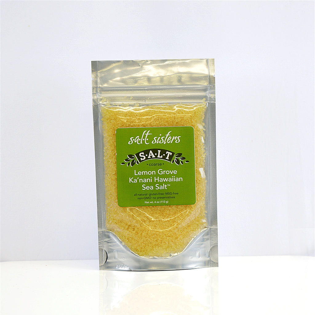 Lemon Grove Ka'nani Hawaiian Sea Salt Coarse
